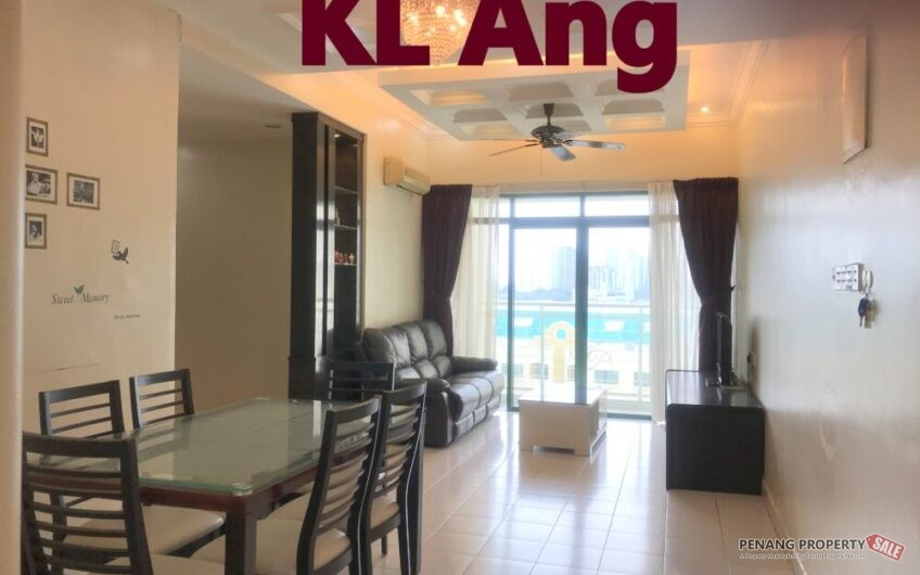 Tanjung Park at Tanjung Tokong 950sqft Fully Furnished & Renovated, Move In Condition