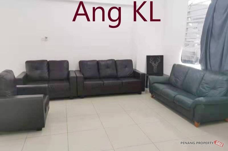 Sierra Residence at Sungai Ara, 1000Sqft Partly Furnished 2 Carparks Worthy Buy Unit
