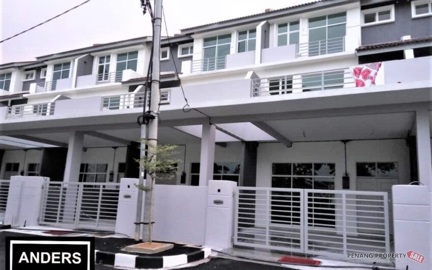 Taman Kota Permai Three Storey Terrace New