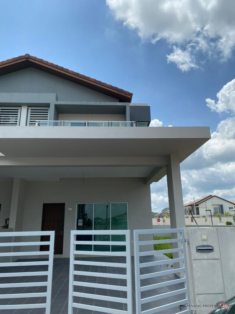 [Double Storey Terrace Corner Lot] Lorong Raintree, Villa Raintree, Simpang Ampat, Pulau Pinang.