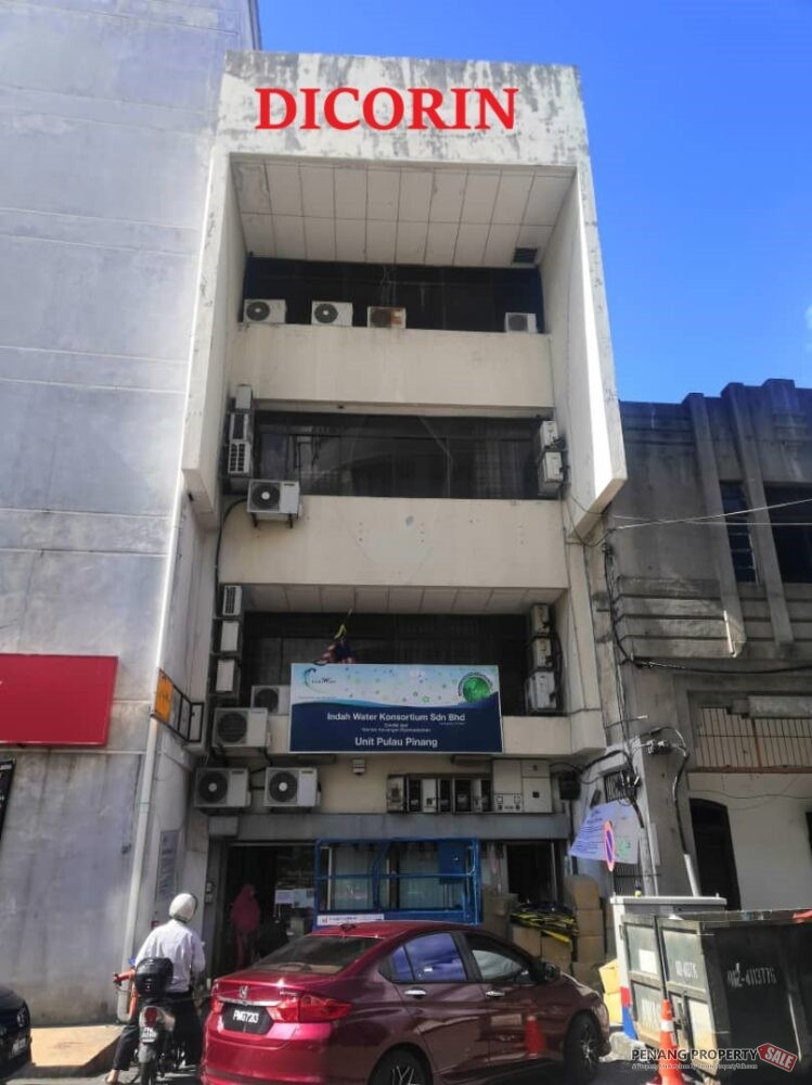 4 storey office building , Lebuh Victoria, Build-up: 7320 sf, For Rent