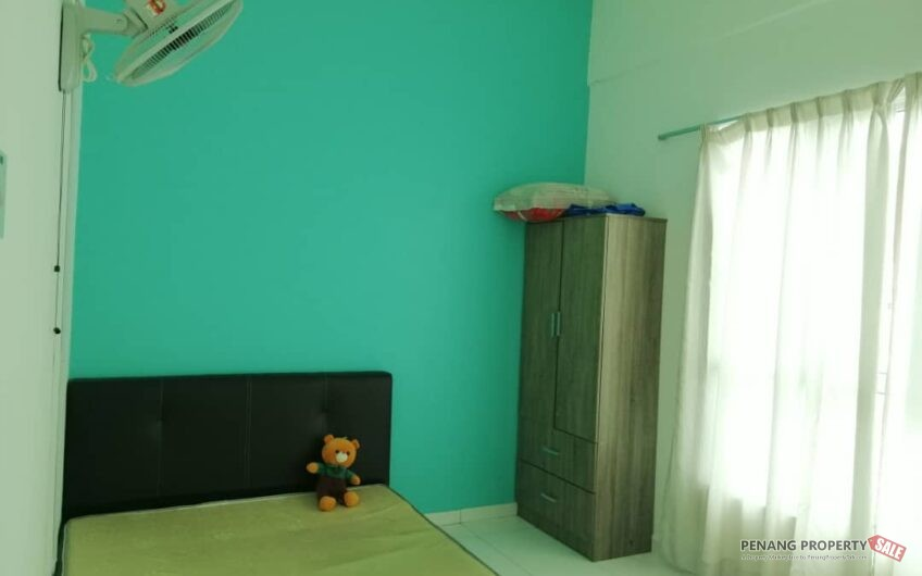 Fully Furnished Condominium For Rent At The Golden Triangle, Relau Penang