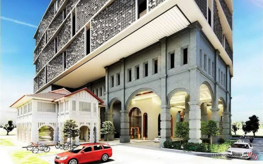 Penang Island, First Approved Airbnb Serviced Suites Development in the Heart of Macalister, Georgetown