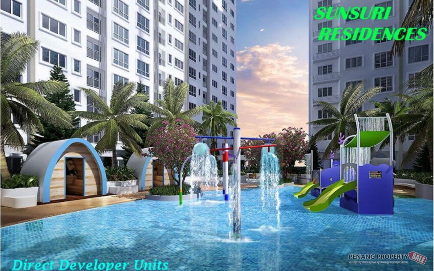 Penang Island, Latest New Service Condo Apartment, Sunsuri in Bayan Lepas. 640sf units from 305K!