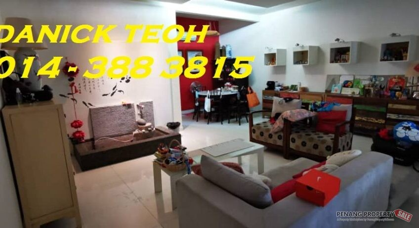FIRE SALE 3 STOREY TERRACE AT TANJUNG BUNGAH (HILLVIEW)