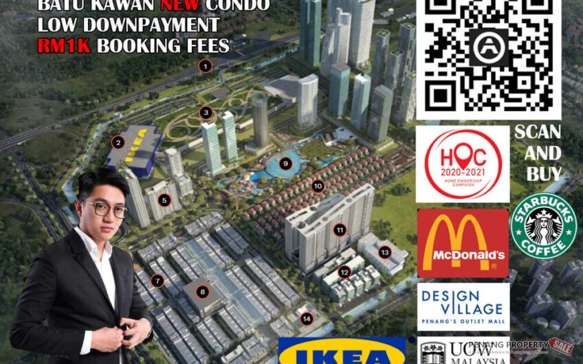 Vivo Executive Apartment Freehold RM298K ONLY