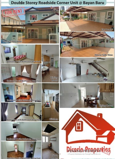 Double Storey, Corner house at Sunway Tunas for rent