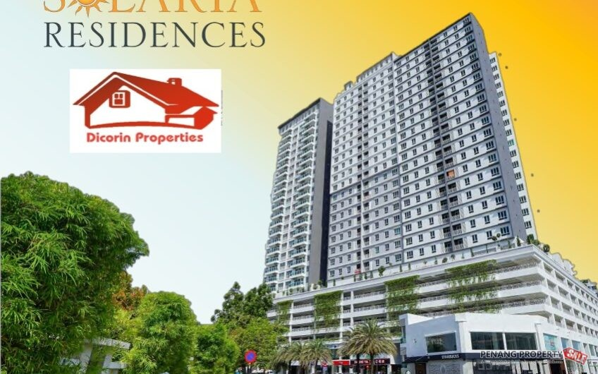 Solaria Residence, Renovated and Furnished
