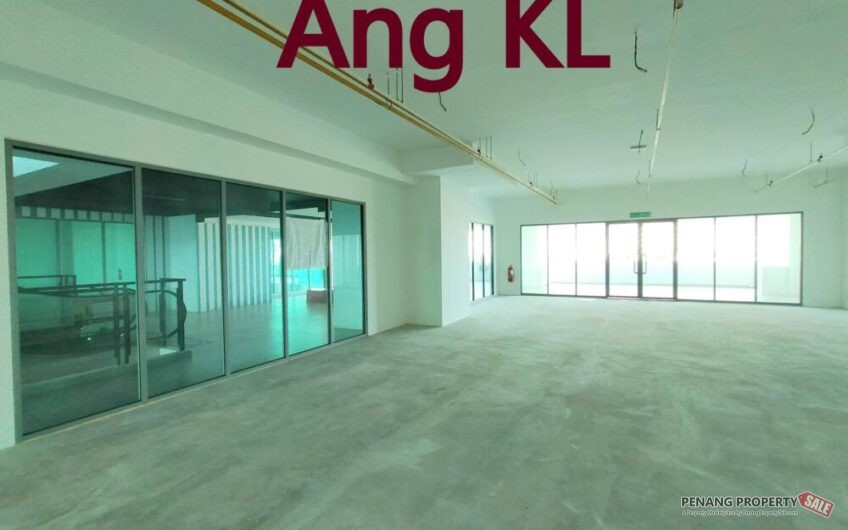 Utropolis Commercial Office Lot at Batu Kawan 2000sqft Corner Unit near Design Village & IKEA
