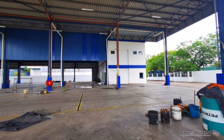 Bukit Minyak Industry. Factory / Warehouse. 35k sqft land. For Rent