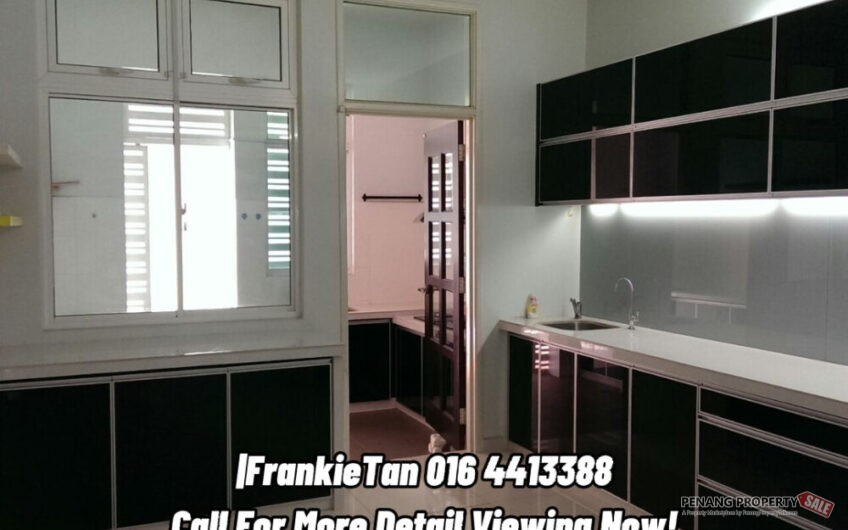 Minden Heights Gelugor Penang 3 Storey Semi D House For Sale