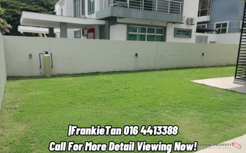Juru, Penang 2 Storey Semi D House Offer For Sale, Tip-Top Condition Ready To Move In Condition