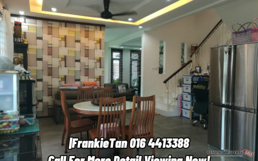 Butterworth Big Spacious Corner Terrace House Offer For Sale