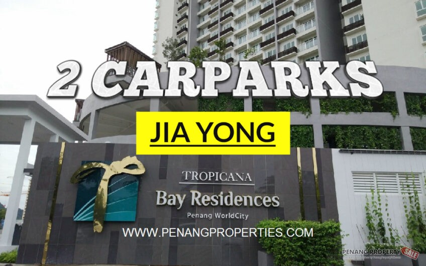 CHEAPEST AND WORTH BUY Tropicana Bay Residence 2CARPARKS