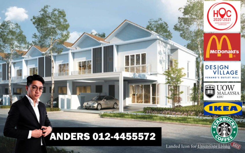 Viluxe Gated Guarded New Landed – Penang FREEHOLD Near IKEA KDU