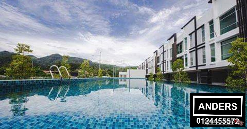 The Maven Townhouse @ Balik Pulau  FOR SALE Corner Unit
