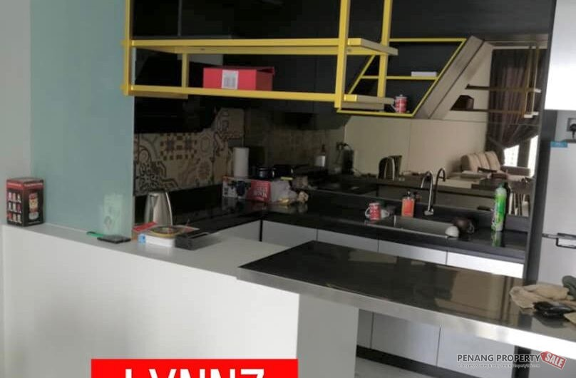 Arte S Fully Furnished 1400SF High Floor Move in condition Gelugor