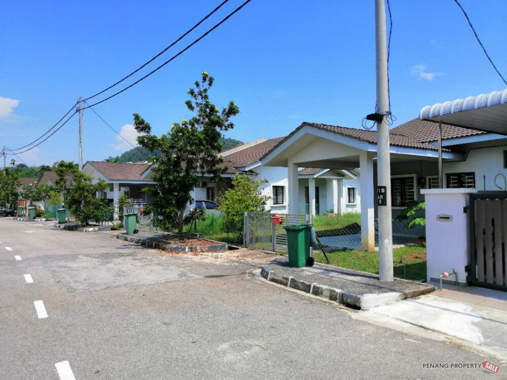 Freehold Single Storey Terrace in Batu Kawan