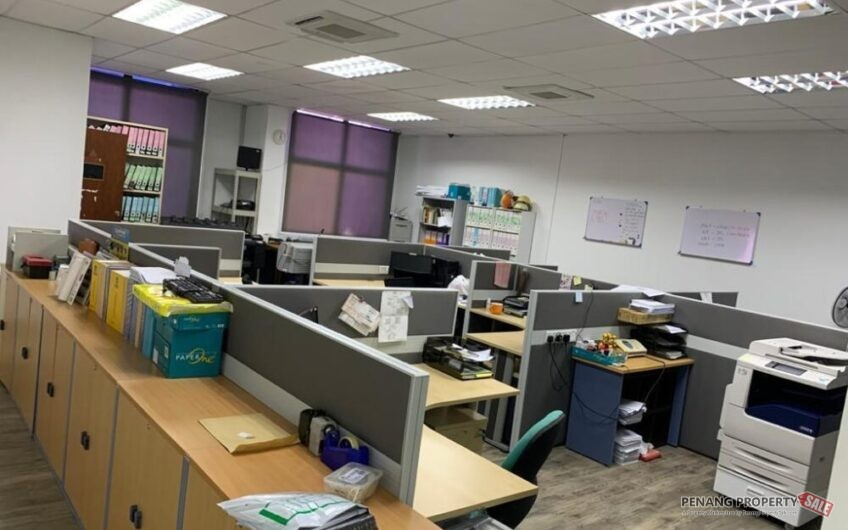 Prima Tanjung Office Space, FURNISHED, Tanjung Tokong, Near Gurney