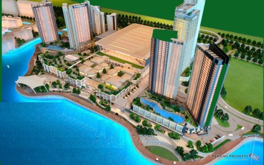 Penang Island, New Waterfront Condo at The Light City of East Coast. Pre Launching Now