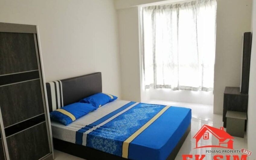 Cheapest Summer Place Jelutong 2 Carpark Fully Furnished & Reno Seaview