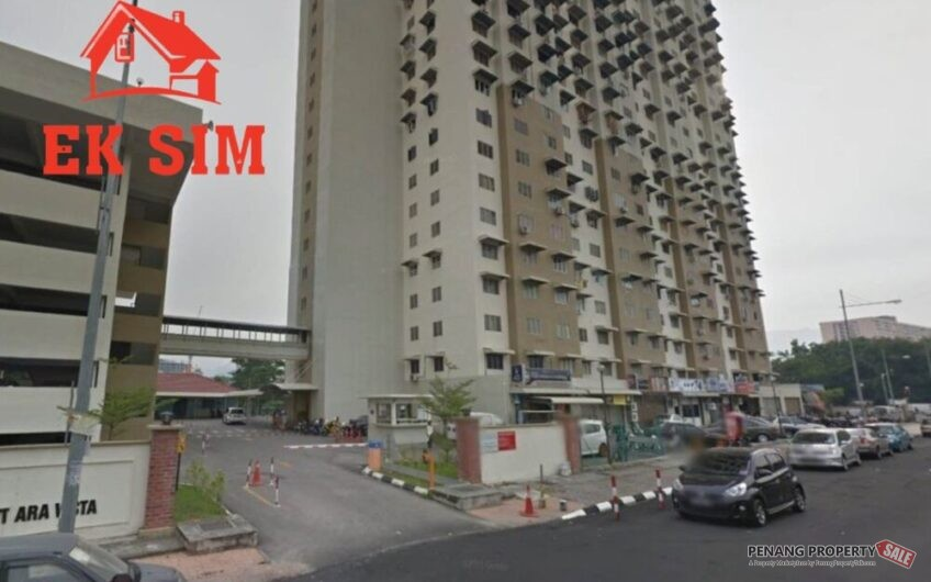 BEST BUY Mutiara Vista 650sf Partly Furnished & Renovated Jelutong