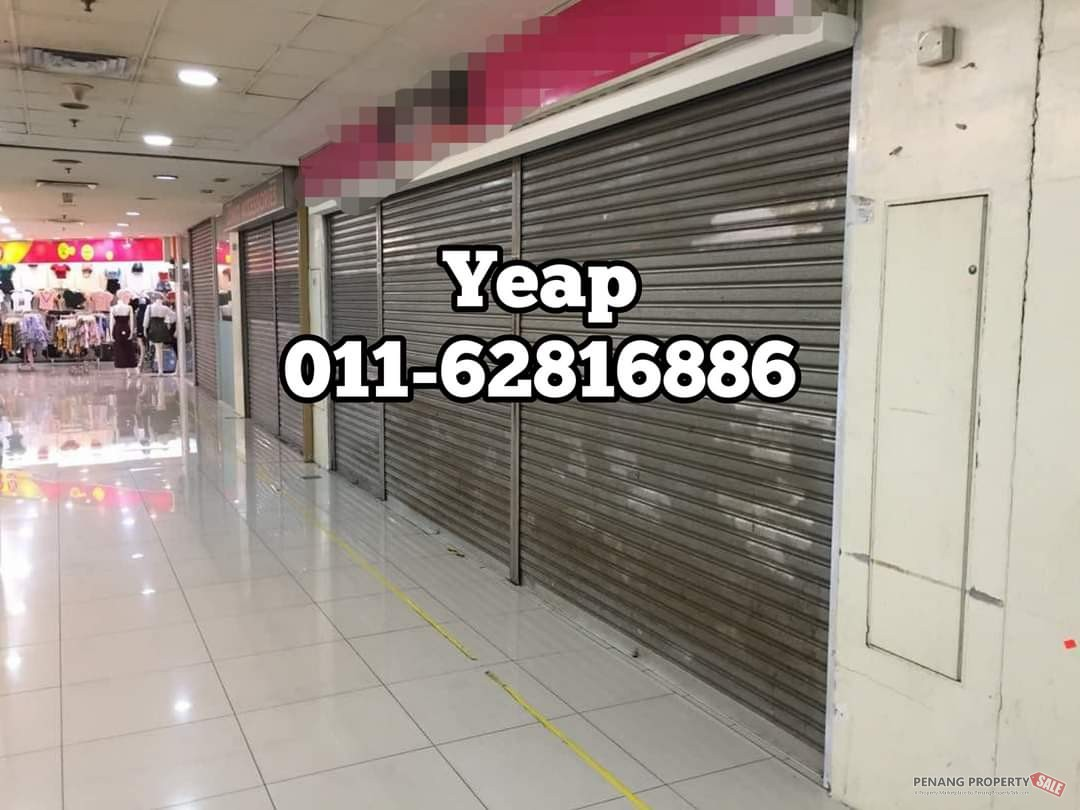 PRANGIN MALL – CHEAPEST SHOP LOT FOR SALE
