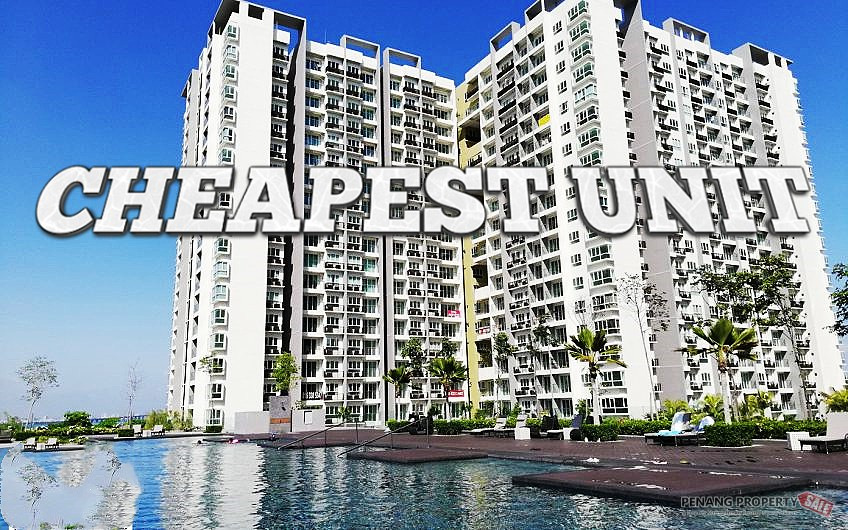 CHEAPEST Tropicana Bay Residence 872sf 3 bedrooms type High floor