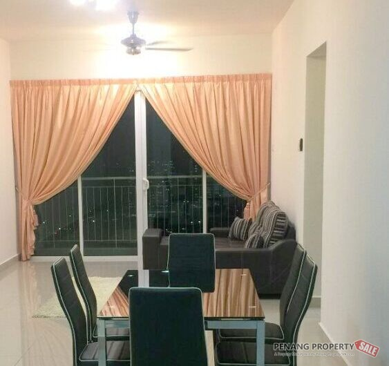 Gardens Ville at Sungai Ara 1115sqft Fully furnished and renovated