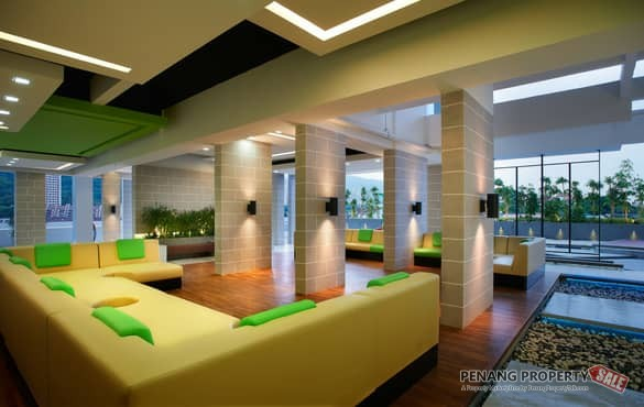 {Renovated} High Floor The Pulse, Gelugor opposite oasis For Sale