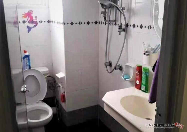 U Garden 800sf Fully Furnished & Renovated Pool View Gelugor FreeHold