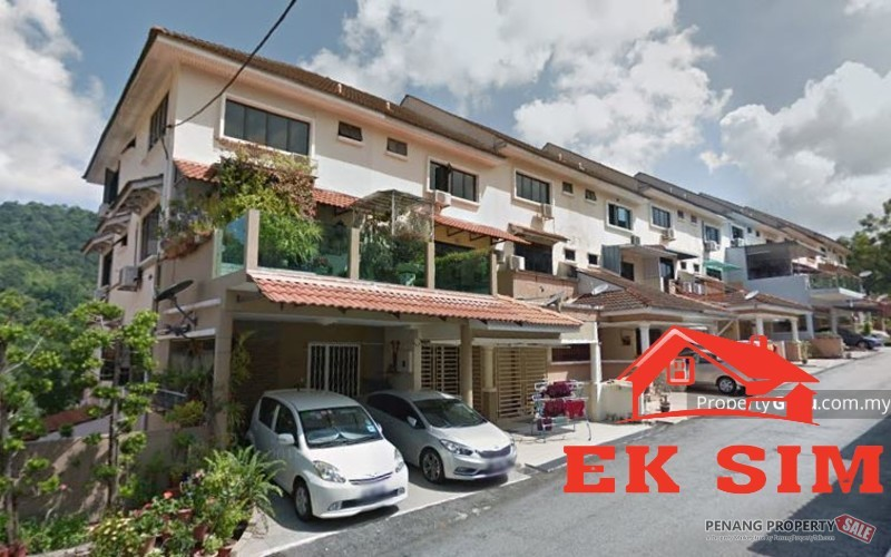 3 Storey Townhouse Krystal Country Home Bayan Lepas FULL RENOVATED