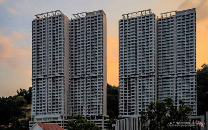 Mont Residence_Free Legal fees_已建好高级公寓_Tanjung Tokong