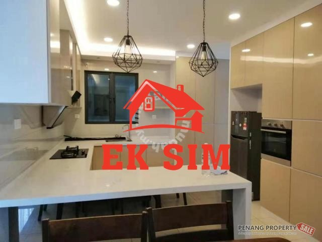Worth Rent Skyview Residence 1450sf Fully Furnished At Jelutong