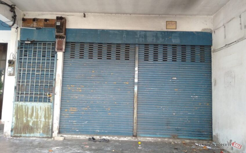 Unfurnished 3 Storey Shop Lot -Office Building For Rent At Jelutong, Penang