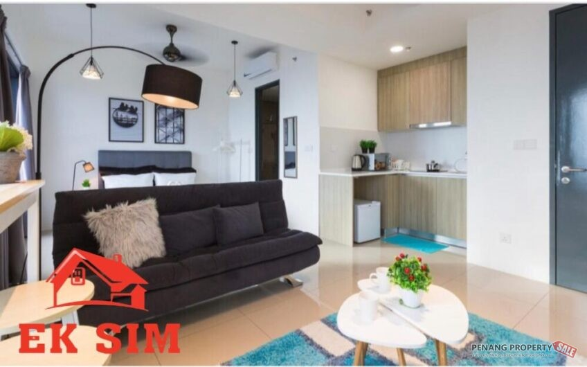 CHEAPEST ! Tropicana 218 Macalister Studio Unit High Floor Nice View
