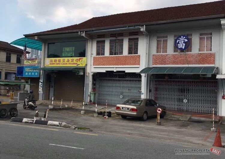 Ayer Itam Double Storey Shop House, First Grade Title, Prominent area