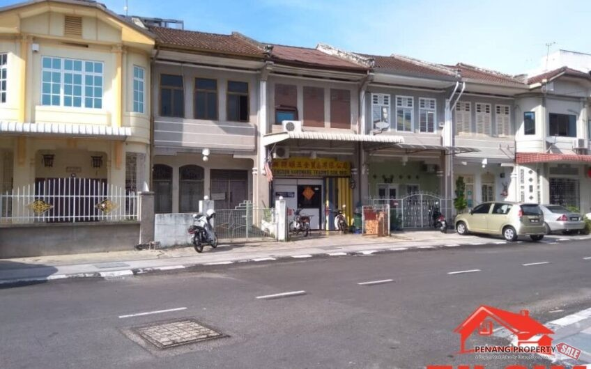 2 Storey Heritage Jalan Merican Georgetown Free Hold First Grade For Sale