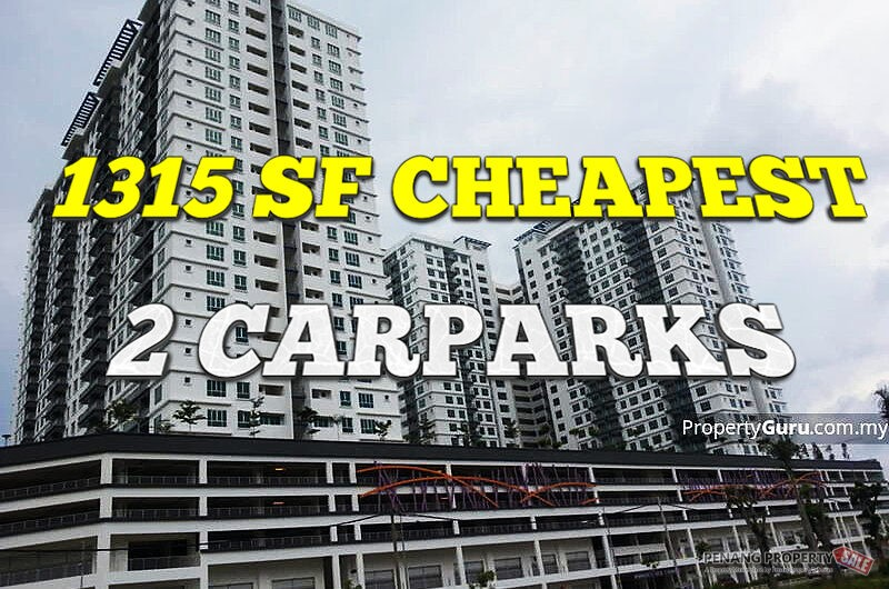CHEAPEST 1315SF Golden Triangle 2 carpark Fully Renovated low floor unit