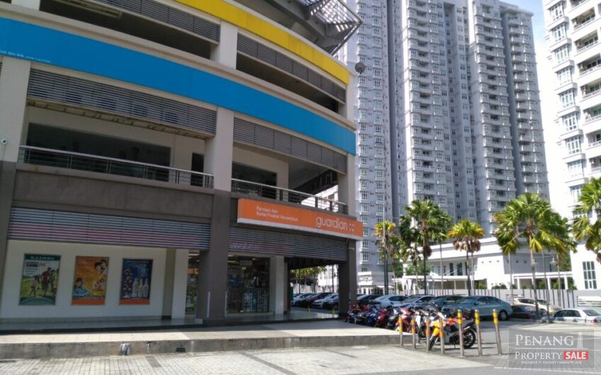 Partially Furnished Shop-Office For Rent At e-Gate, Gelugor, Penang