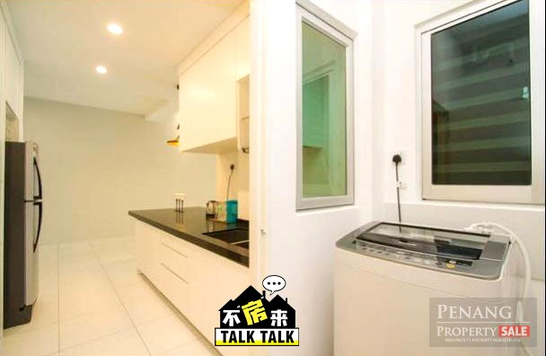 Nicely Renovate Fully Furnish Elit Height For Rent With Big Balcony