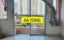 Desa Jelutong low density apartment with balcony
